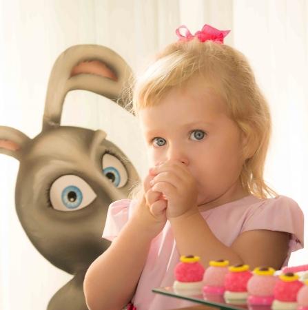 Festa infantil – Cecília comemora seus dois anos