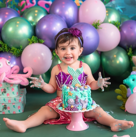 Lívia | | Smash the Cake | 1 ano