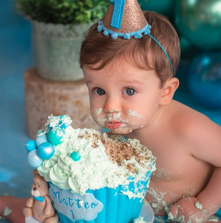 Smash the Cake | Matteo | 1 ano